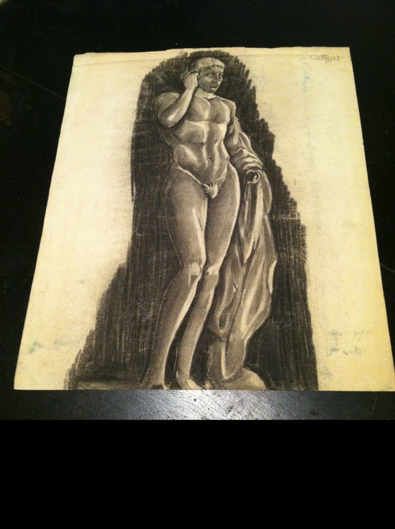 Drawing-John Hussian Collection